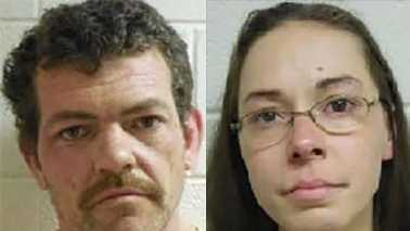 Warren Conley, left, and Kathryn Jetter, right