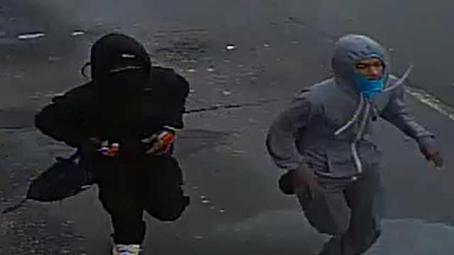 Surveillance images of Wendy's armed robbery suspects
