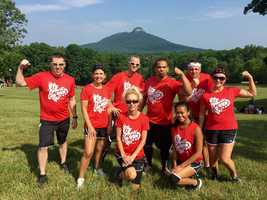 Members of the WXII 12 family took part in Saturday's Marine Corps League Mud Run at Camp Jameoke. Check out these great photos!