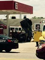 The pump was quickly turned off after the crash, and there was no explosion.