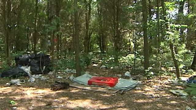 Mattresses were found about 275 feet from a Winston-Salem assisted living center that has since closed.