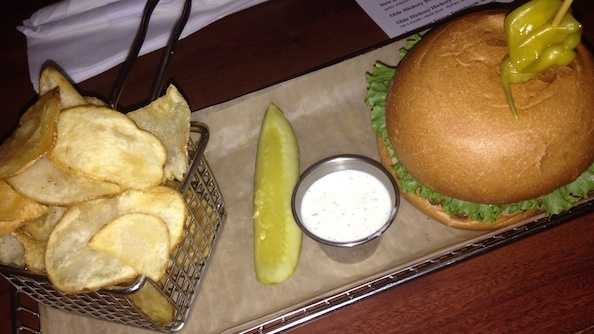 Hops Burger Bar topped a survey released this week by the website TripAdvisor.