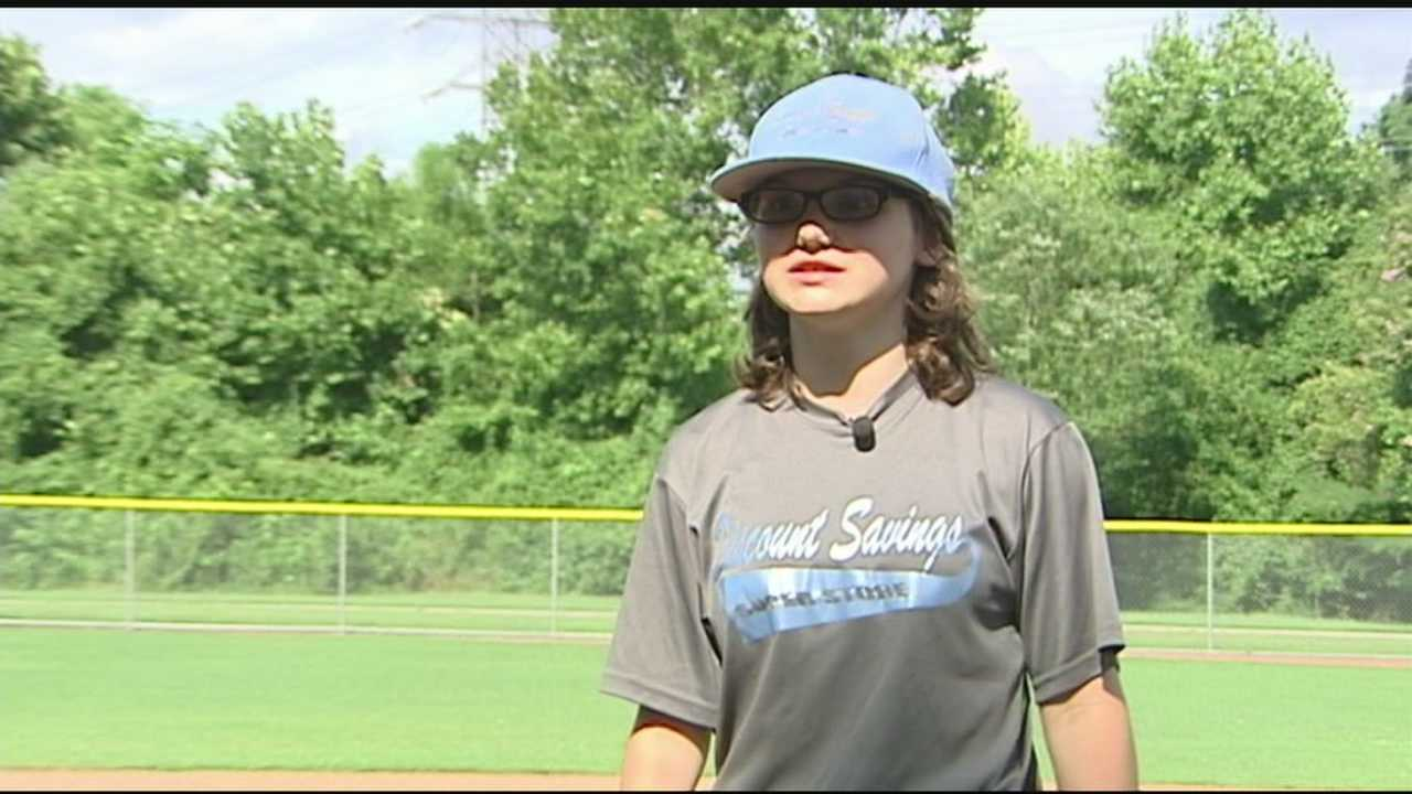 Brittany Apgar is getting a lot of attention for her these days for her ability on the diamond not her disability&#x3B; Kenny Beck explains.