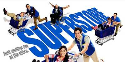 Superstore: Returns September 22nd. On Thursdays at 8:00 pm. America Ferrera and Ben Feldman star in a hilarious workplace comedy about a unique family of employees at a super-sized mega store. From the bright-eyed newbies and the seen-it-all veterans to the clueless summer hires and the in-it-for-life managers, together they hilariously tackle the day-to-day grind of rabid bargain hunters, riot-causing sales and nap-worthy training sessions. Half-hour comedyStars: America Ferrera, Ben Feldman, Mark Mckinney Lauren Ash, Colton Dunn, Nichole Bloom, and Nico Santos.