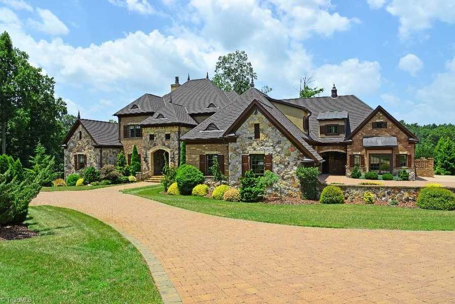 This four bedroom Greensboro estate is priced at $2,995,000.