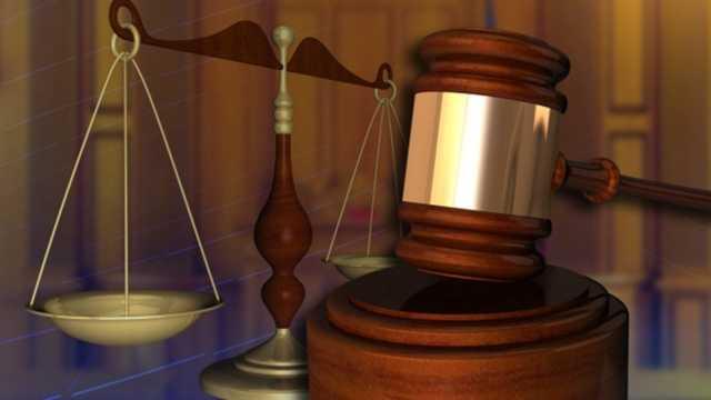 Court gavel generic