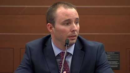 Charlotte police officer Randall Kerrick took the stand in his voluntary manslaughter trial.