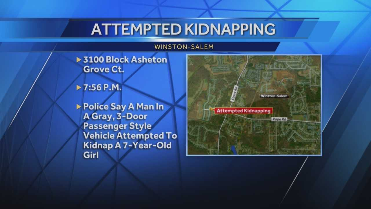 Attempted kidnapping in Winston Salem