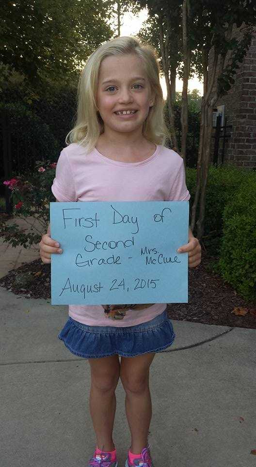 First day of Second Grade.