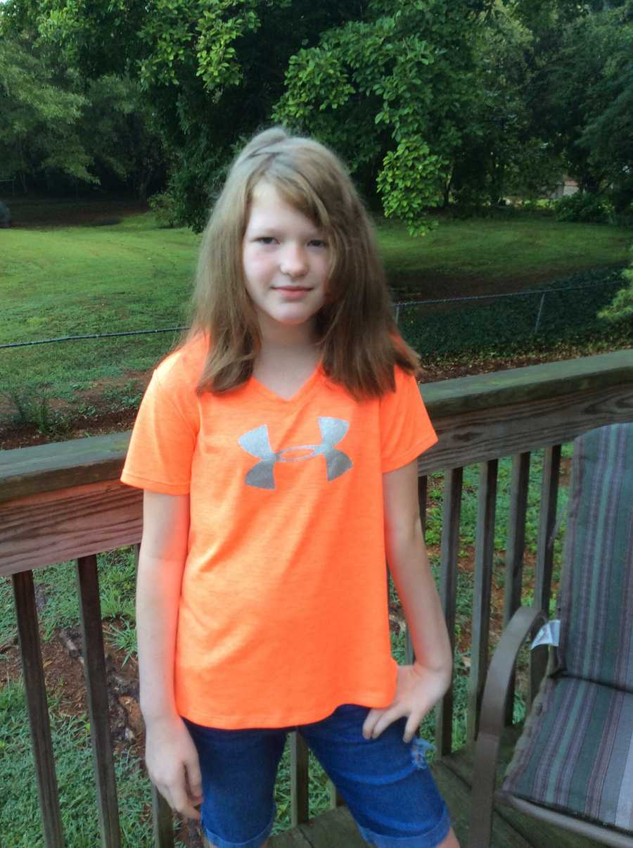 1st day of 5th grade.