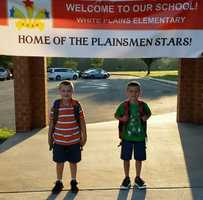 My husband and I have not just one, but two second graders! These boys sure make us proud.