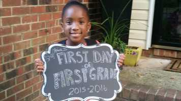 Sophia is excited to return to Jefferson Elementary School.