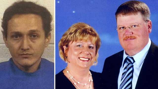 Jose Alvarez, left. Troy and LaDonna French, right.