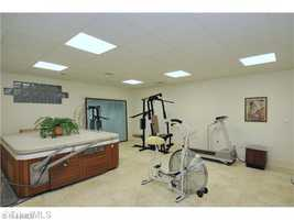 Exercise Room with Hot Tub