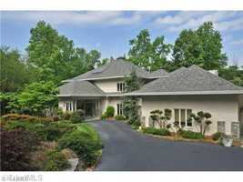 This Winston-Salem estate is situated on 3 plus acres and priced at $1,350,000.
