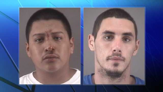 Miguel Gonzalez, left, and Michael Roten, right