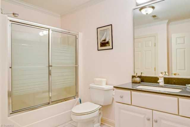 One of six Bathrooms