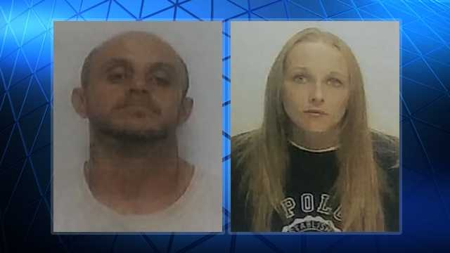 Lloyd Wayne Franklin, left, and Jennifer Michelle Lanning, right