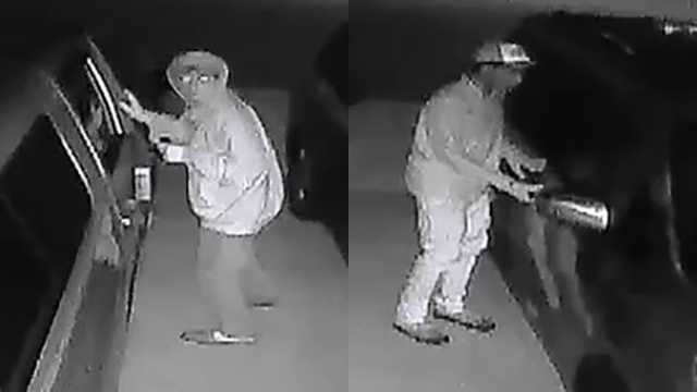 Surveillance images of suspects in Winston-Salem car break-ins