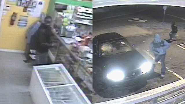 Surveillance images of La Lupita robbery suspects