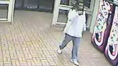 Surveillance image of possible suspect in rest area shooting