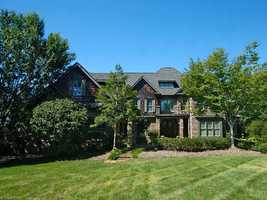 This five bedroom estate is located in Winston-Salem and priced at $1,100,000