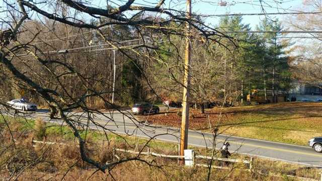 School bus involved in Davidson County collision