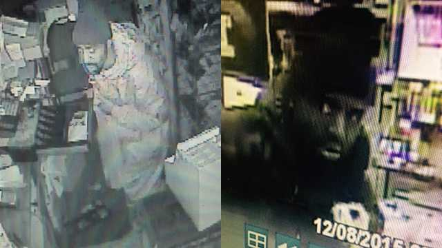 Surveillance images of man wanted in 11 Winston-Salem business break-ins