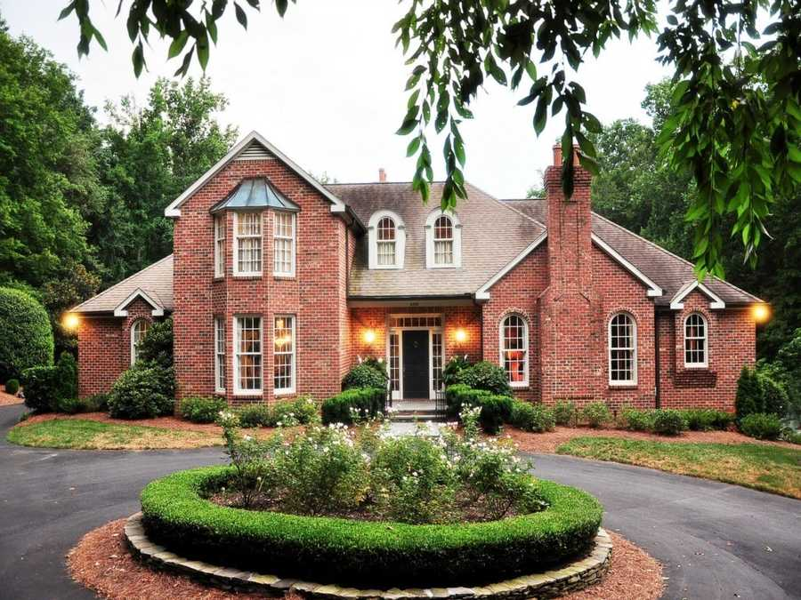 This five bedroom Winston-Salem estate is situated on over 3 acres and priced at $2,495,000.