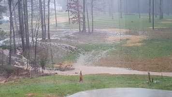 Flooding in Asheboro