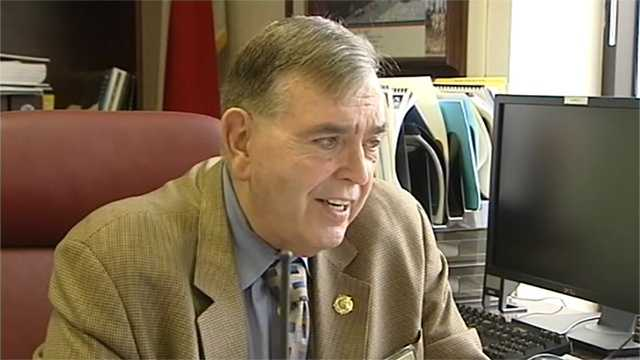 Randolph County Sheriff Maynard Reid