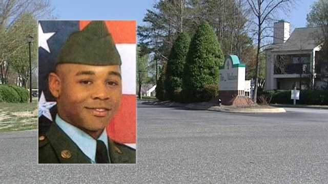 Antonio Davis, a member of the Army Reserve, was shot to death on March 12, 2012, at the Madison at Adams Farm apartments in Greensboro.
