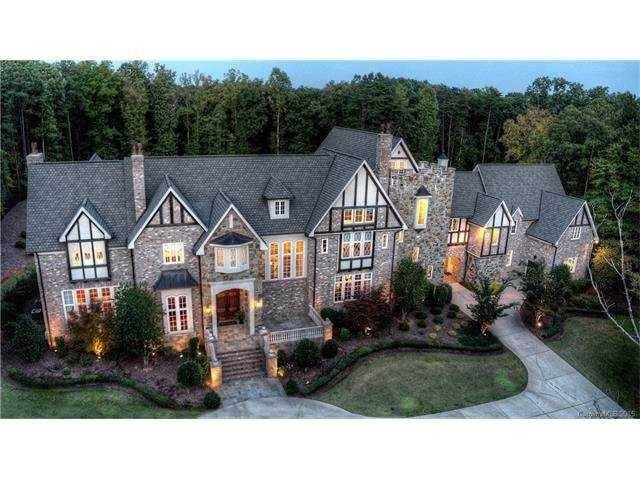 This five bedroom Charlotte estate is situated on over 11,000 square feet and is priced at $2,975,000.