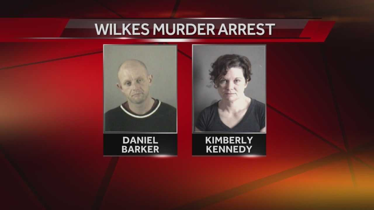 Authorities announced that two people have been arrested and charged in connection with a Wilkes County murder.