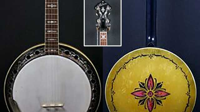 The banjos stolen from Lowe Vintage in Burlington look similar to these.