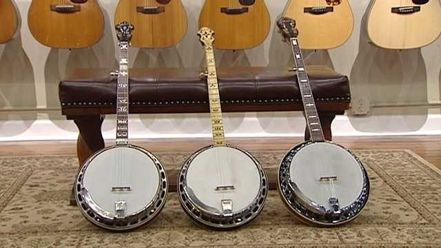 These vintage banjos were returned to Lowe Vintage Instrument Company after being stolen and taken to an auction house, police said.