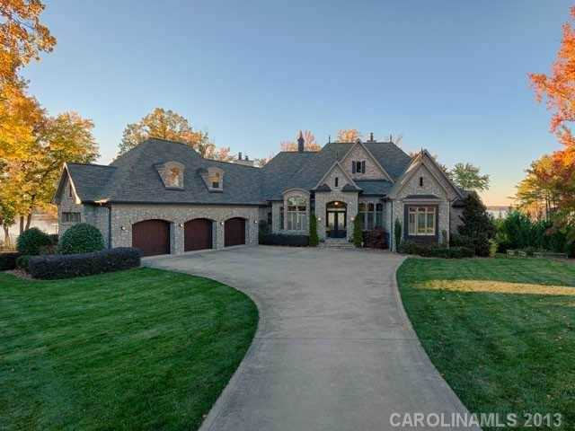 This five bedroom estate is located in Denver, North Carolina and priced at $2,590,000.