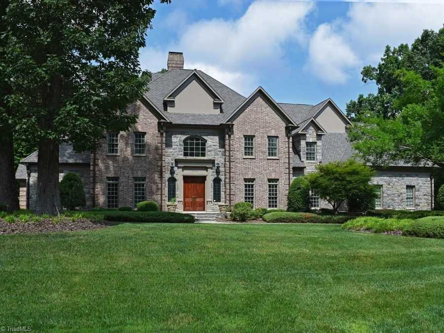 This Greensboro Estate is a Premier Grandover Golf Course Home with over 12,000 square feet and priced at $2,250,000