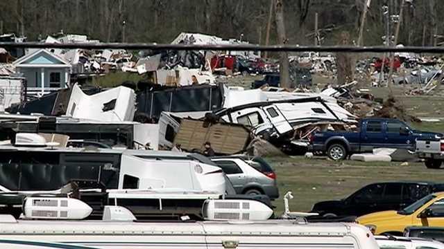 A North Carolina man was among 2 killed in a tornado at an RV park in Convent, Louisiana.