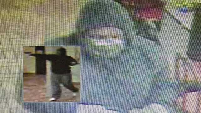Surveillance images of armed robbery suspect at Lexington Waffle House