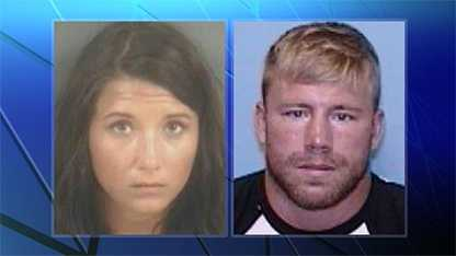 Jeanie Ditty, left, and Zachary Keefer, right