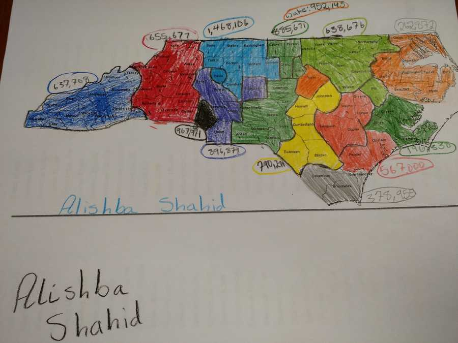 Here's how some fifth graders at the Downtown School in Winston-Salem tackled drawing new North Carolina congressional districts in just one day by following all state guidelines.