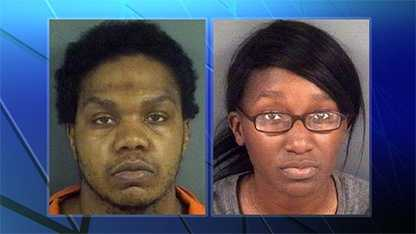 Jemarkus Meshawn Smith, left, and Octavia Bennett-Smith, right