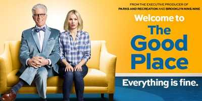 The Good Place: SERIES PREMIERE SEPT 19 | MONDAY 10:00 pm. A smart, unique new comedy that follows Eleanor Shellstrop, an ordinary woman who, through an extraordinary string of events, enters the afterlife where she comes to realize that she hasn't been a very good person. With the help of her wise afterlife mentor, she's determined to shed her old way of living and discover the awesome (or at least the pretty good) person within. Half-hour comedy.Cast: Kristen Bell and Ted Danson.