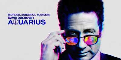"""Aquarius: Saturdays At 9:00 pm. Los Angeles. 1967. Sam Hodiak, a decorated World War II vet and homicide detective, barely recognizes the city he's now policing. Long hair, cheap drugs, rising crime, protests, free love, police brutality, Black Power and the Vietnam War are radically remaking the world he and the Greatest Generation saved from fascism 20 years ago. So when Emma Karn, the 16-year-old daughter of an old girlfriend, goes missing in a sea of hippies and Hodiak agrees to find her, he faces only hostility, distrust and silence. He enlists the help of Brian Shafe - a young, idealistic undercover vice cop who's been allowed to grow his hair out - to infiltrate this new counterculture and find her. The generational conflict between the two is immediate and heated, yet they're both dedicated officers and soon realize the need to bring Emma home is more urgent than they foresaw. The immediacy arises because she has joined a small but growing band of drifters under the sway of a career criminal who now dreams of being a rock star: Charles Manson. Ringing with the unparalleled music of the era, """"Aquarius"""" is a sprawling work of historical fiction that begins two years before the 1969 Tate-LaBianca murders. It's a shocking thriller, a nuanced character drama and, in the end, the story of how we became who we are today.Cast: David Duchovny, Emma Dumont, Grey Damon, Gethin Anthony"""