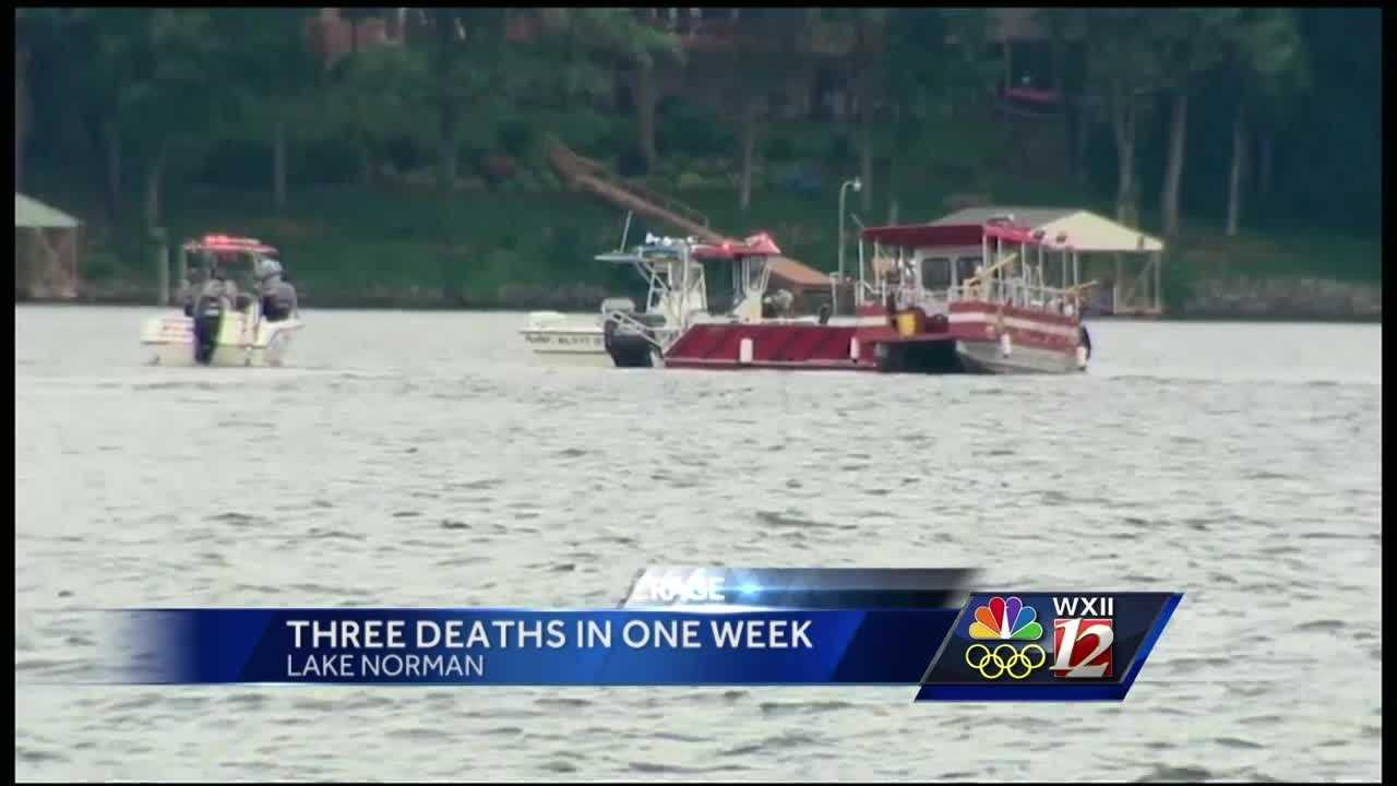 Third drowning at Lake Norman