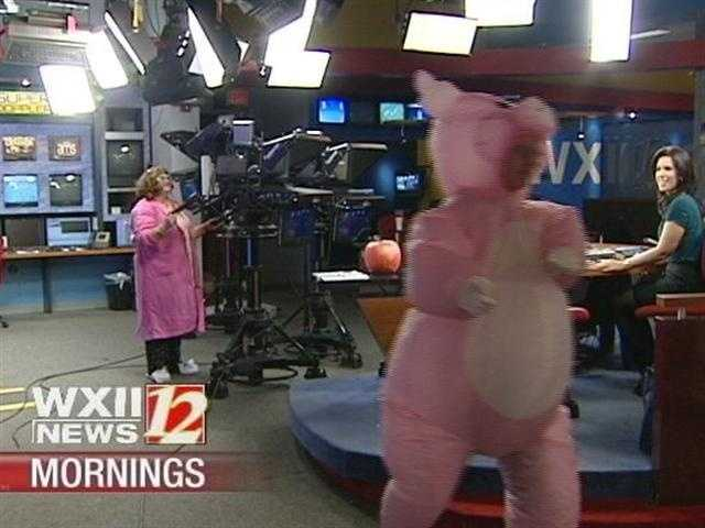 The WXII12 Morning Team wishes you a Happy Halloween!