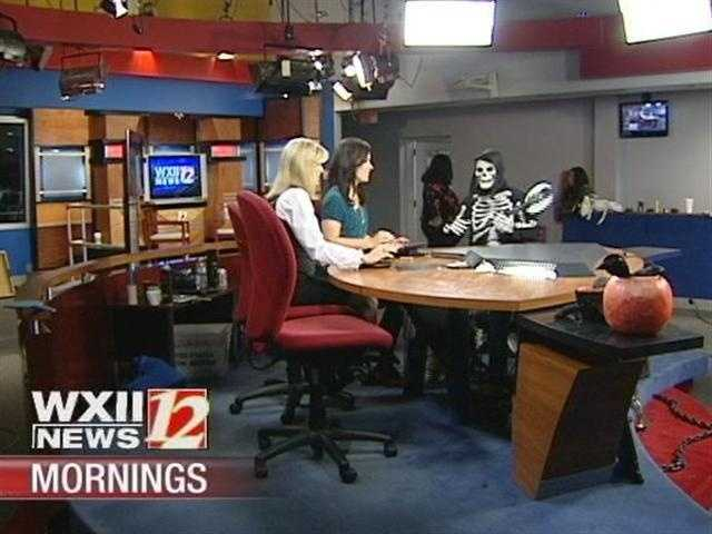 Skeleton joins the set with anchors Kim and Nicole...