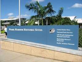 The Pearl Harbor Historic Sites in Oahu, Hawaii with the U.S.S. Arizona has a lot for wedding guests to site seek.