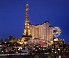 The Paris Hotel and Casino on the Las Vegas strip. This city is a great place to visit for your guests, wedding party and honeymoon in with all it's vast entertainment,restaurants and activities. So plan your wedding and/or honeymoon here.